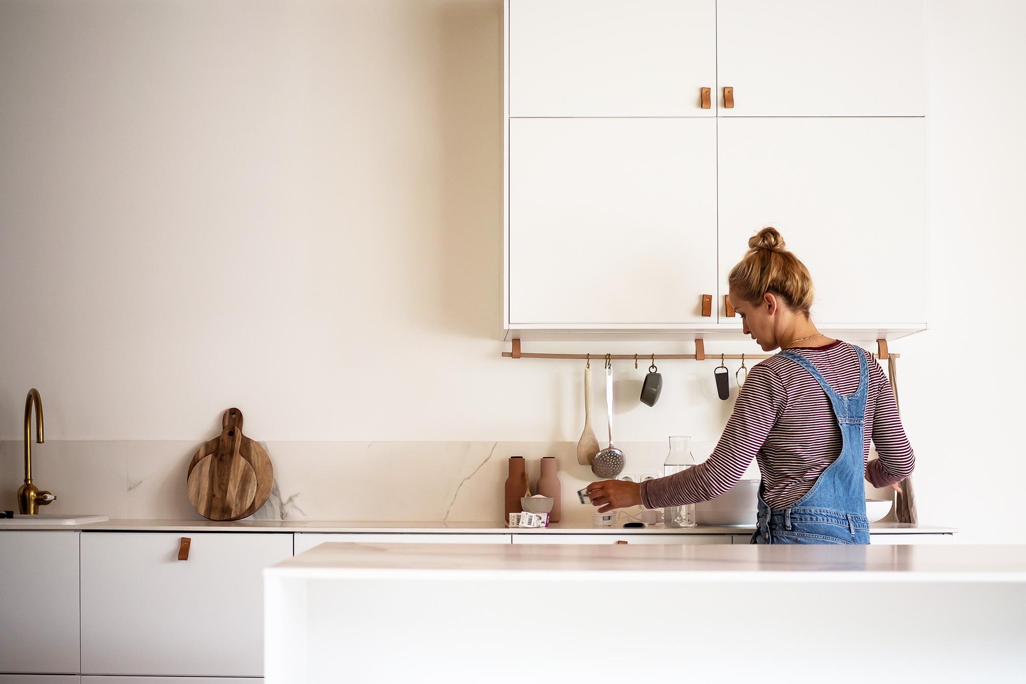 Der kleine Garten in der Küche | apinchofstyle.com