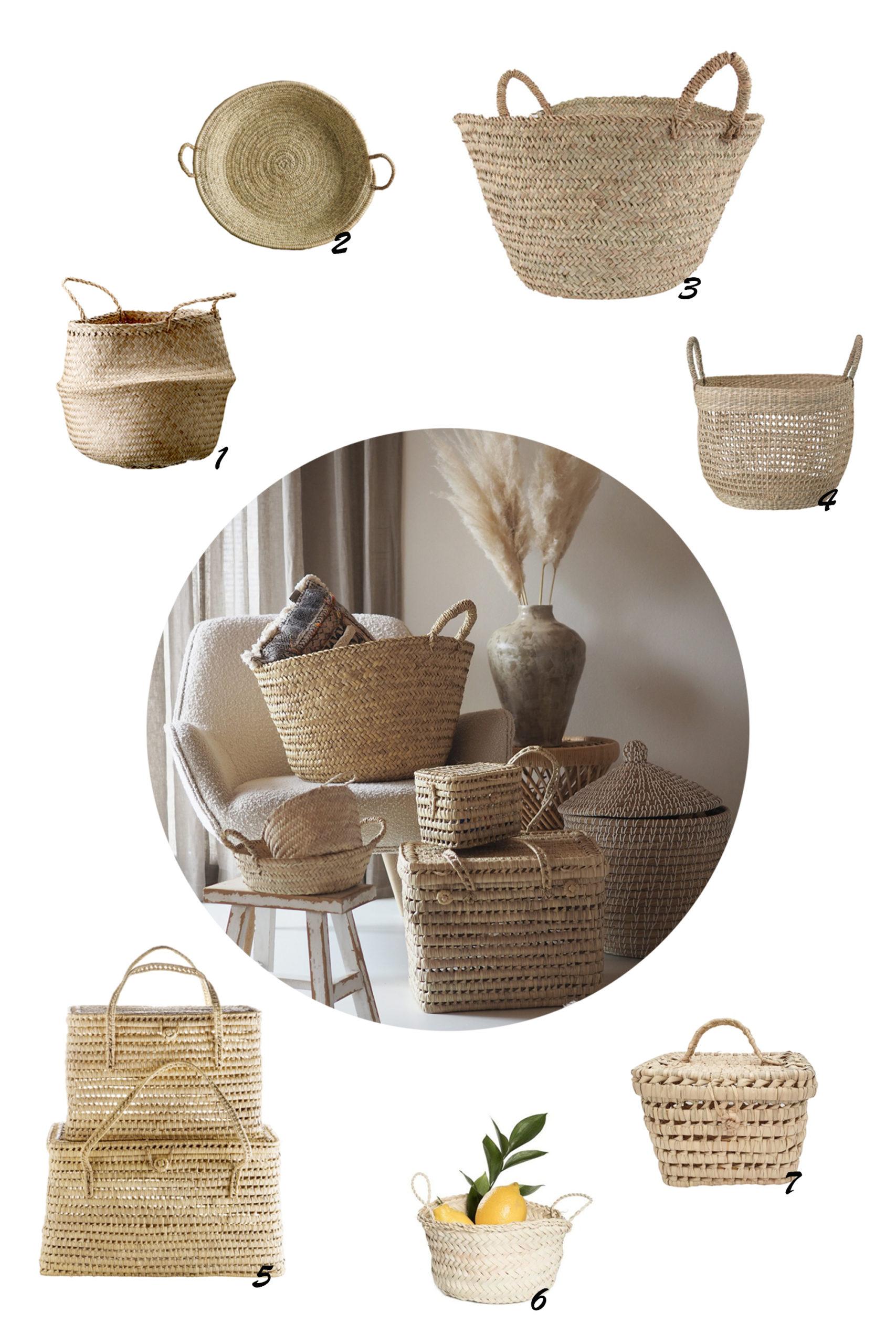Dein Shoppingguide für die Aufräumender: Körbe in allen Formen!