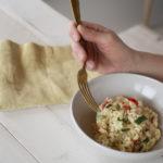 Gesund essen: Mein Zucchini-Paprika-Risotto